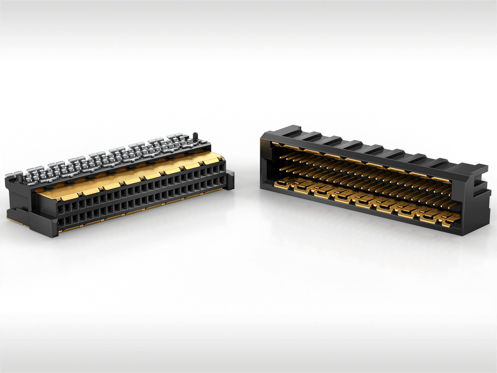 ERNI MicroSpeed connectors